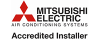Mitsuibishi Accredited Installer